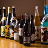 【お 酒】 料理の魅力をより引き出せる銘酒を厳選して取り揃え