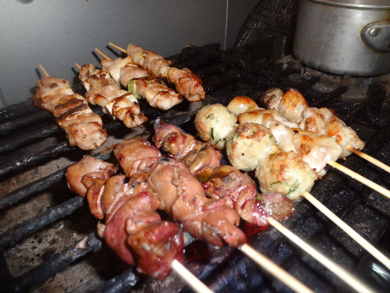 【本格炭火焼】炭火で炙る旬の食材