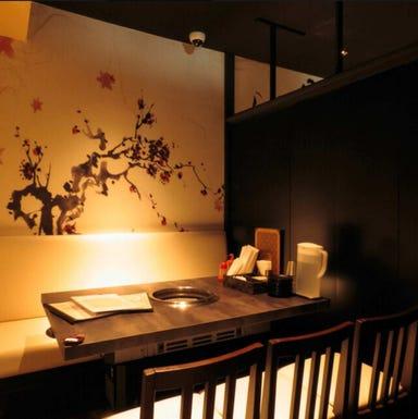 個室韓国伝統料理・ 焼肉ハヌリ新宿三丁目店 店内の画像