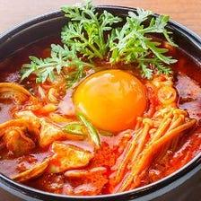 熱々韓国鍋