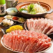 高級ラム肉、ハーブ三元豚食べ放題!