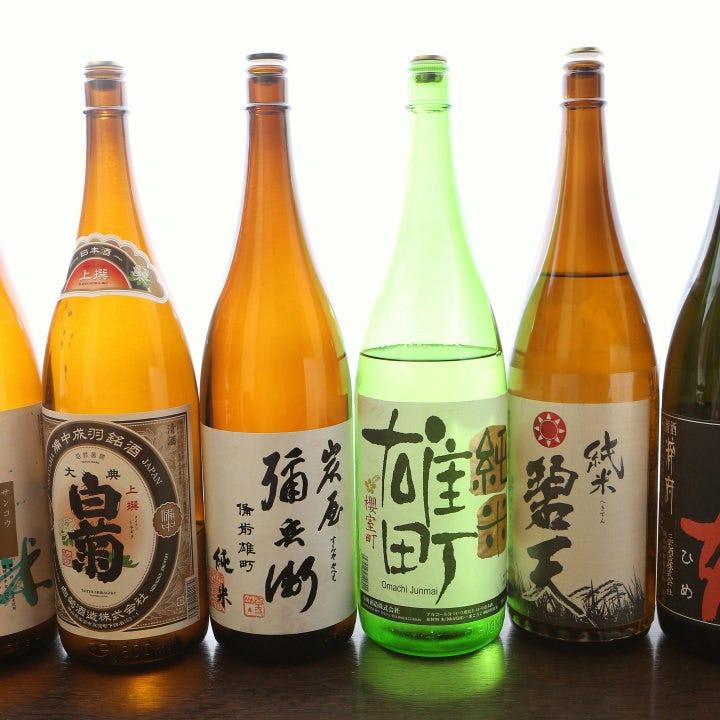 岡山食材×美味しい岡山地酒