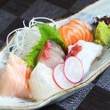 瀬戸内鮮魚 お造り盛り合わせ