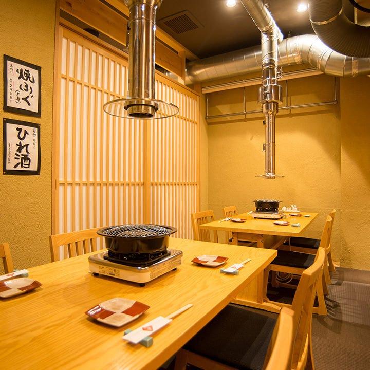 上質な和空間でゆったりとお食事を