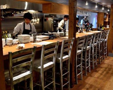 貝と白ワインのバル KAKIMARU 綾小路店 店内の画像