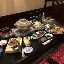 釜飯&小鍋付 特選会席3,850円