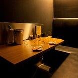 ◆カップル個室◆ 記念日・会食利用におすすめの個室を完備