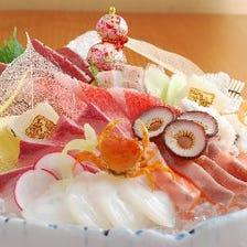 【鮮魚】朝〆の新鮮な旬のお魚お刺身