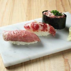 肉トロ3種盛り合わせ