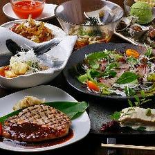 旬の食材で作る日本の味を心ゆくまで