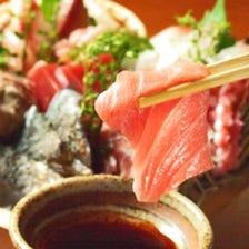 自慢の海鮮と日本酒のマリアージュ♪