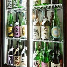 ◆常時60種以上の地酒をご用意!