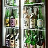 60種以上の当店の料理に合う地酒をご用意!レアもの日本酒も!