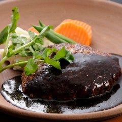 黒毛和牛のハンバーグステーキ/デミグラスソース