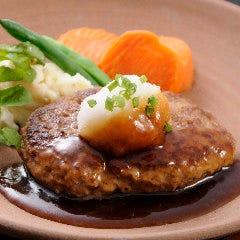 黒毛和牛のハンバーグステーキ/おろし和風ソース