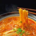 「赤から鍋」の〆はラーメン・リゾット・雑炊・きしめんの4種類