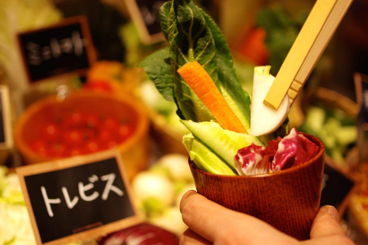長野県民「野菜摂取量日本一」を体感