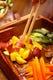 野菜ビュッフェは長野県産きのこやさつまいも・かぼちゃ食べ放題