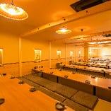 全席完全個室だから、何名でご予約いただいても『個室確約』! 100名様規模の大宴会もOKです★