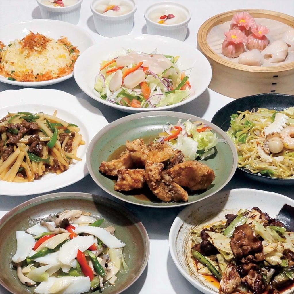 宴会プランも充実!季節変わりの中華