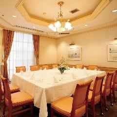 鳥取ワシントンホテルプラザ チャイナテーブル