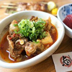和牛すじの煮込み豆腐