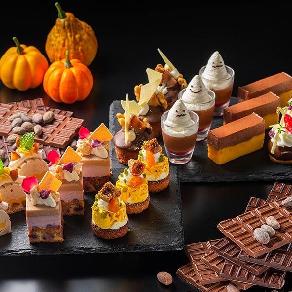 【10月 土・日開催】チョコレート×ハロウィンスイーツブッフェ