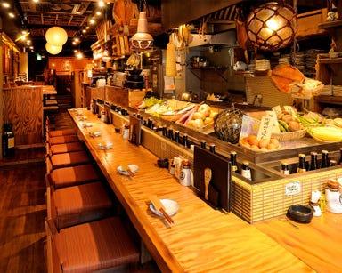 東岡崎 炉端屋 どんぱち  店内の画像