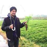 大島農園様より、南信州の採れたて有機野菜を取り寄せています。