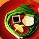 北海道産各地から農家直送野菜や京野菜の料理