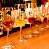 全国から厳選梅酒30種や日本酒をお料理に合わせてご用意
