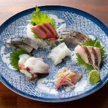 ◆その時期の旬な魚を提供