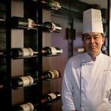 【シェフ・浅沼健史】 老舗「京都ホテルオークラ」に30年在籍。レストラン料理長も務めました