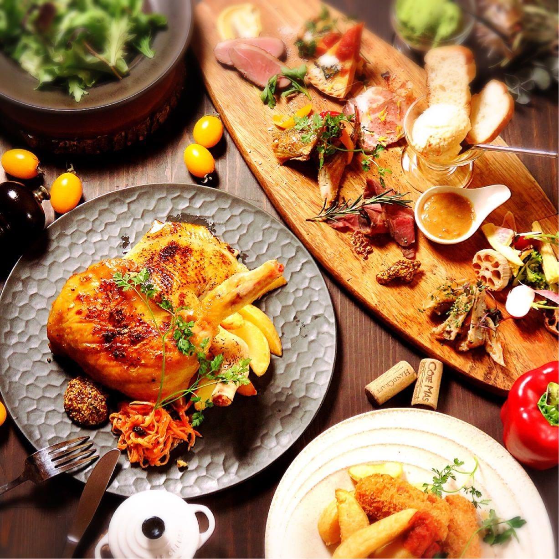 鶏の美味しさを満喫するならこれで決まり『ホロホロ鶏コンフィコース』[全12品]