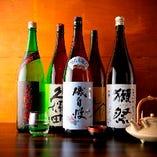 ◆全国の銘酒揃い◆ 厳選した銘柄から好みの一杯が見付かるはず