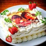 ■□Birthday □■ 自家製ケーキにメッセージを添えて