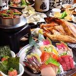 新鮮な食材を使用したおすすめの料理を多数ご用意!宴会も◎