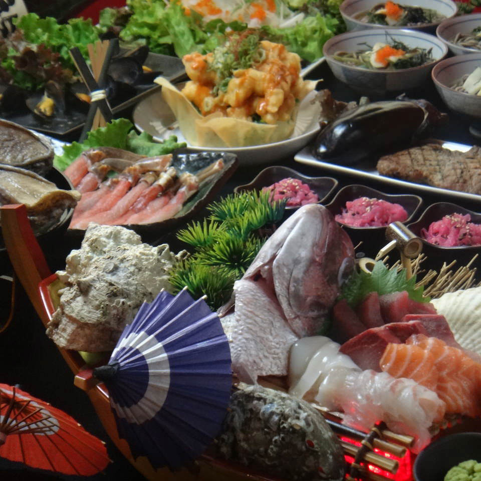 海鮮和食を満喫♪多彩なご宴会コース
