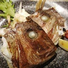 鯛兜&鯛カマの塩焼きまたは煮付け