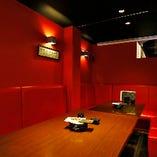 和食居酒屋には珍しいソファー個室!半個室としてもご利用可能♪