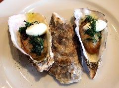 旨味を濃縮させた牡蠣の燻製