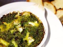 つぶ貝のタイハーブバターオーブン焼きエスカルゴ仕立て