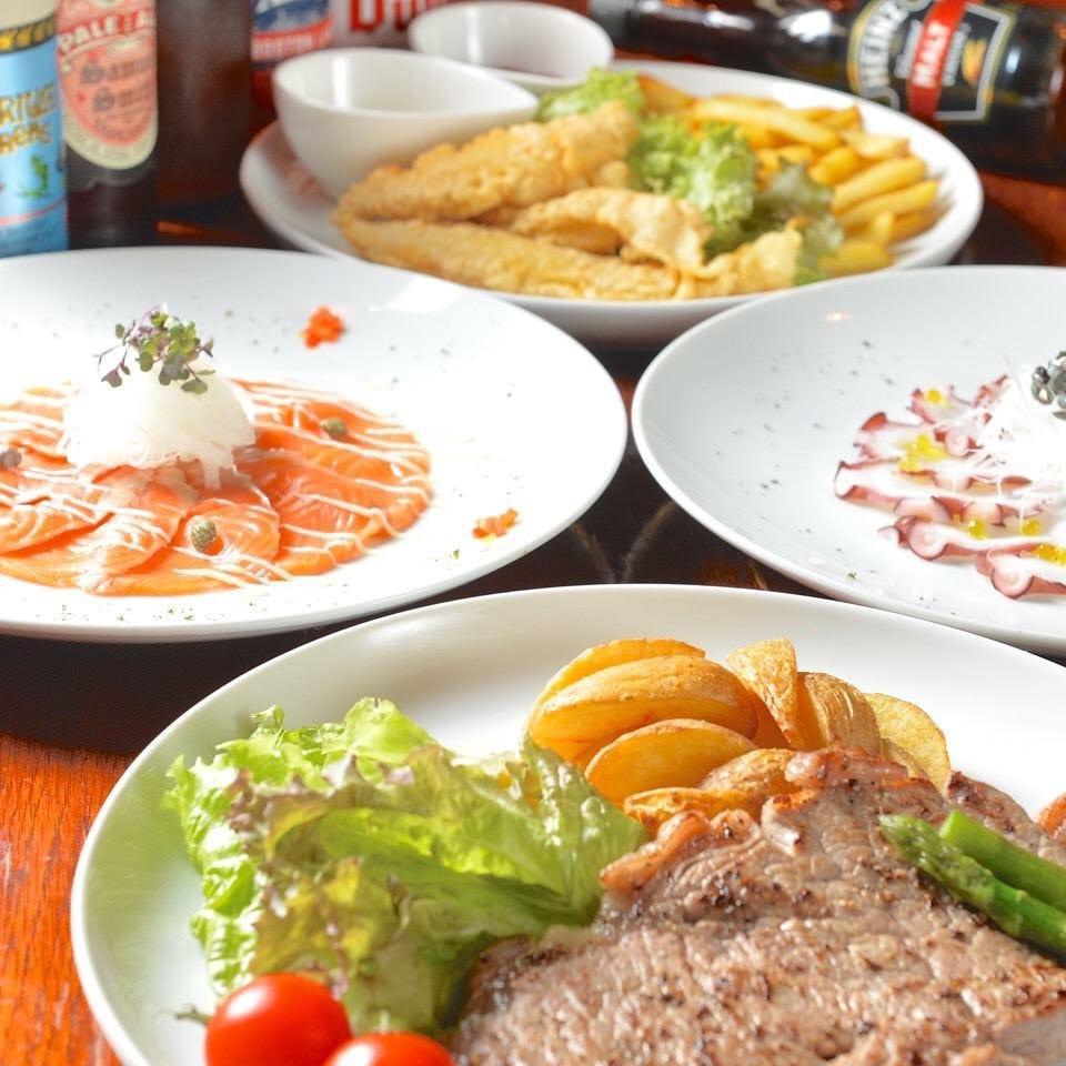 【3500円コース】2時間飲み放・題食べ物6品。とりあえずこのコースで。
