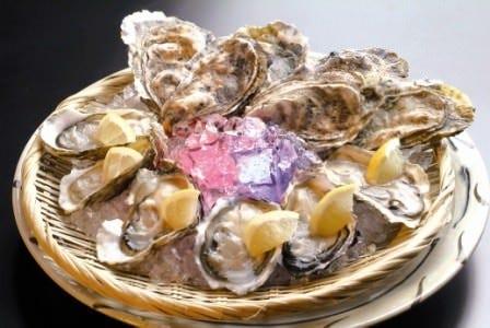 日本全国から仕入れたブランド牡蠣!