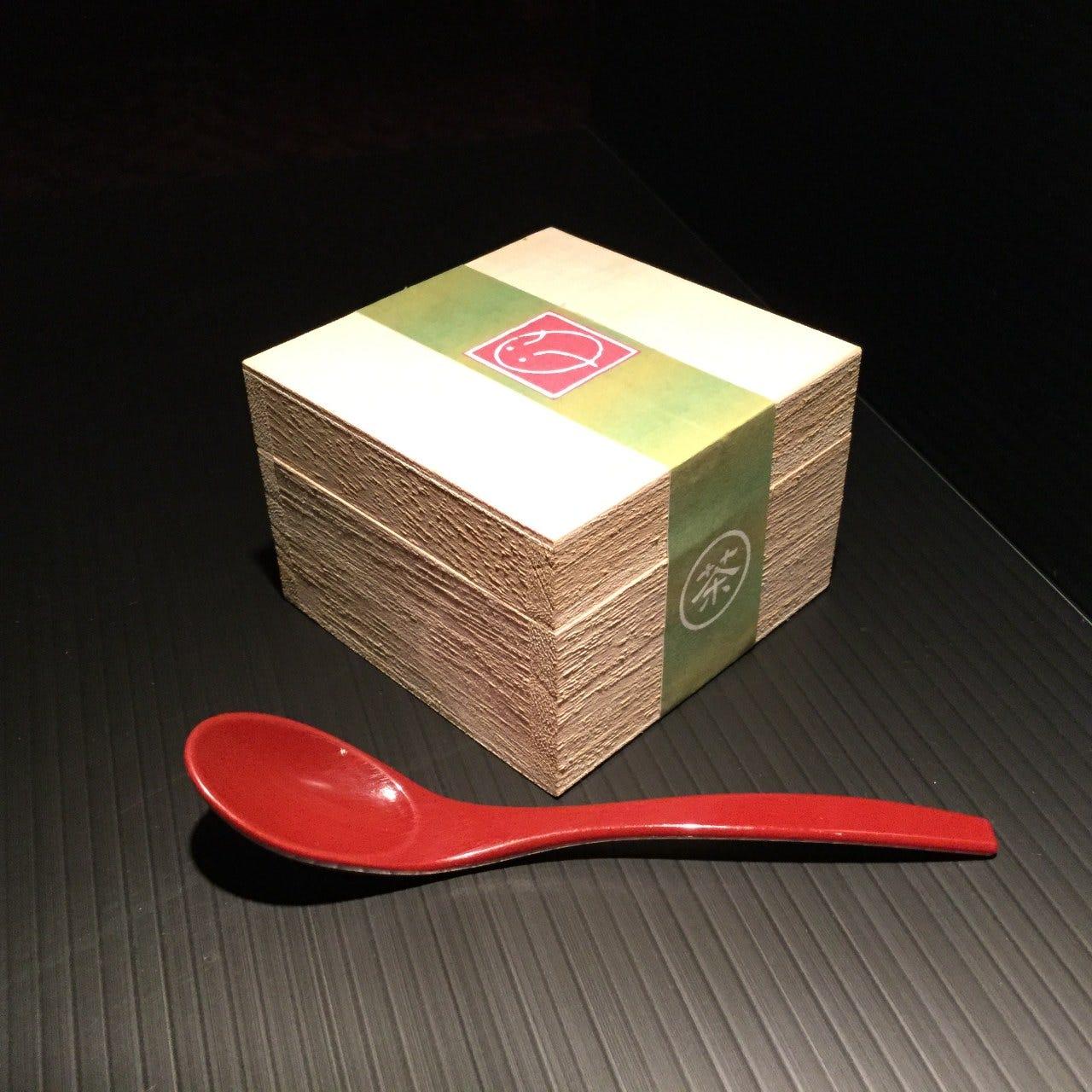 オリジナルデザート!茶箱ティラミス