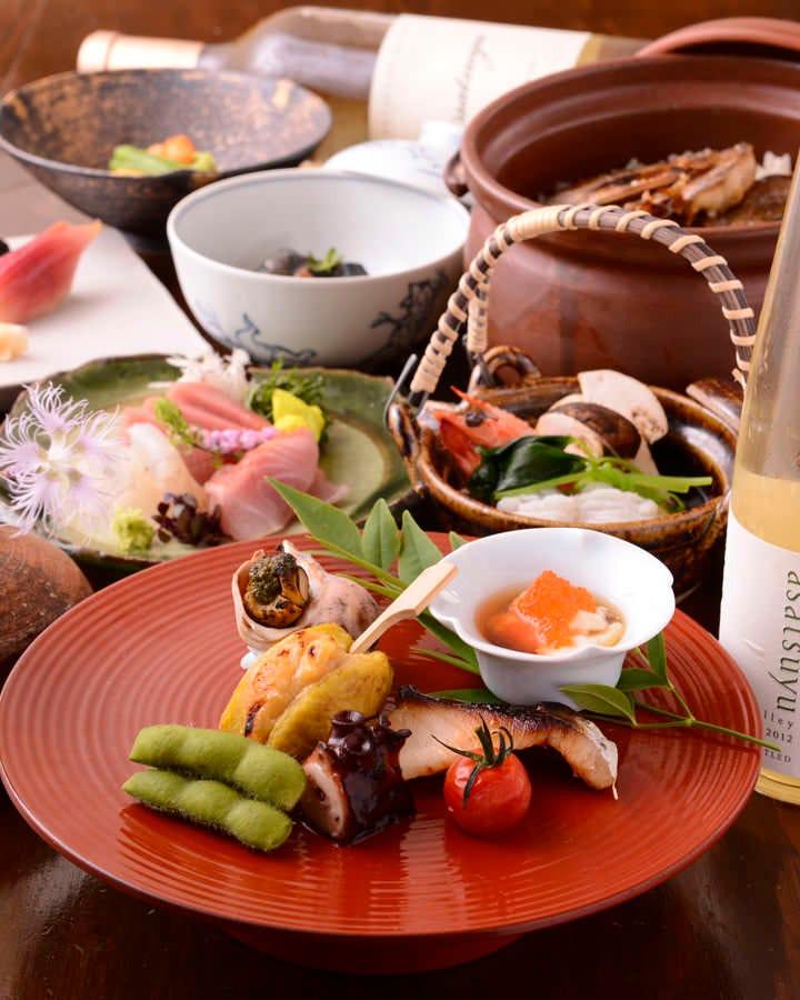 神楽坂の隠れ家で、最高の和食を