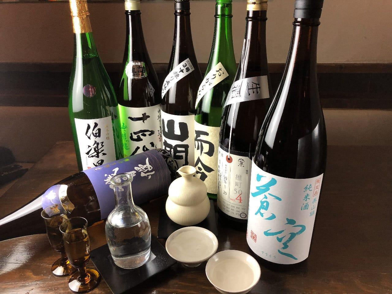 日本各地の厳選した日本酒