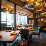 最大70席 おしゃれな空間で、地酒と新鮮な魚