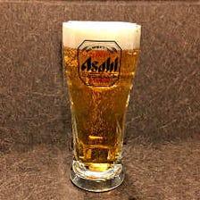 生ビール一杯100円