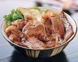 松阪牛のロースを寶来亭オリジナルのタレで焼き上げました!